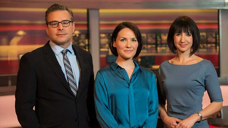 Cymru Wales, New Presenters for BBC Wales Today, News on News, News on News