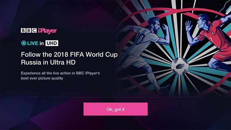 BBC Ultra HD Trials Set for World Cup 2018