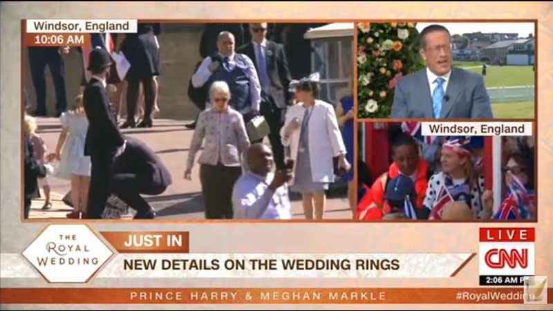 CNN Most Watched on Cable for Royal Wedding