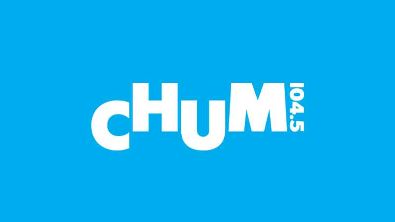 CHUM 104.5 Toronto Relaunches with New Look