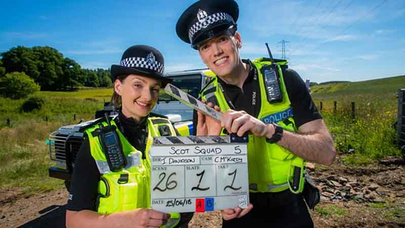 Fictional Police Comedy 'Scot Squad' Returns for New Series