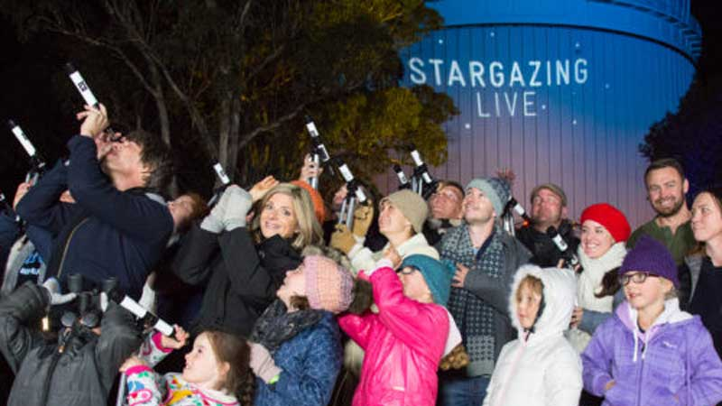 Australia's Stargazing Live Enters the Record Books