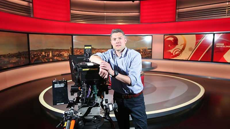 Adam Smyth, Adam Smyth Appointed Head of BBC News Northern Ireland, News on News, News on News