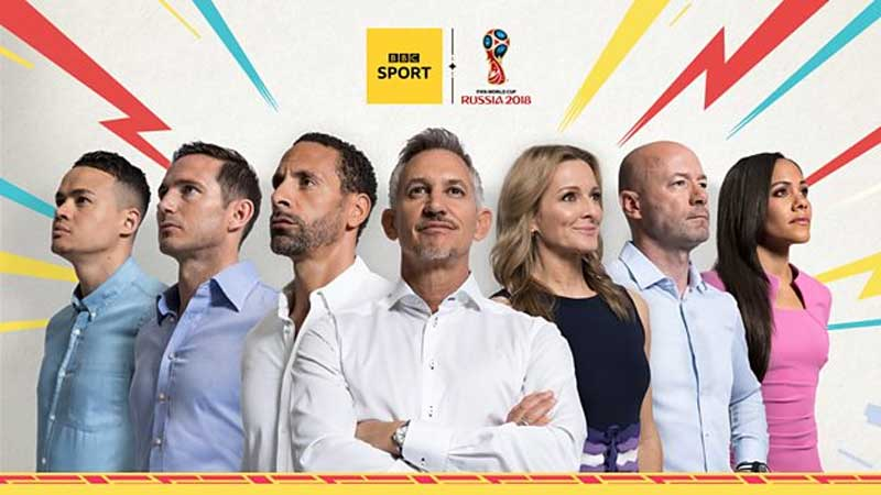BBC Sport, BBC Sport to Produce 24 Hour Coverage of World Cup 2018, News on News, News on News