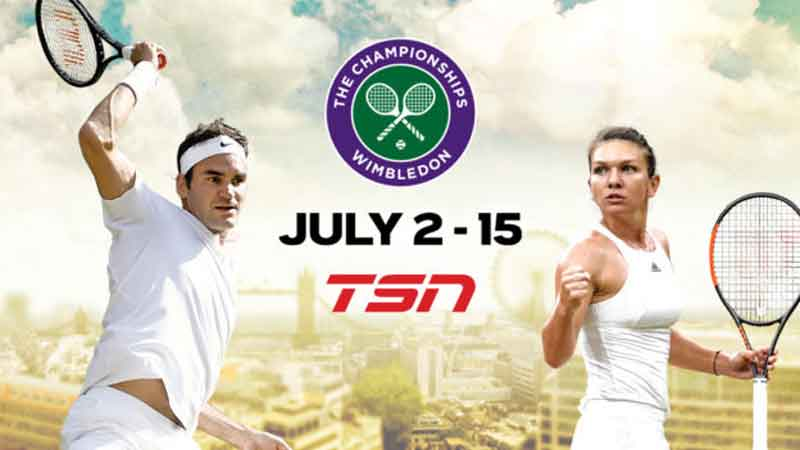Wimbledon, TSN Confirms Extensive Wimbledon Coverage, News on News, News on News