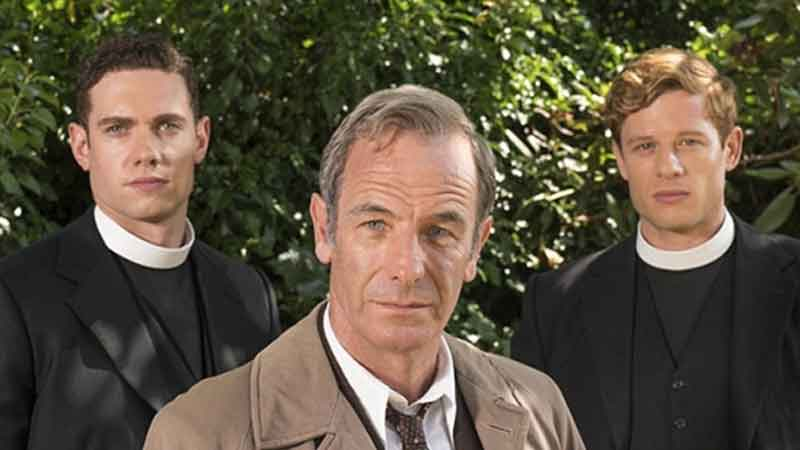 Tom Brittney Cast as Clergyman in ITV's Grantchester
