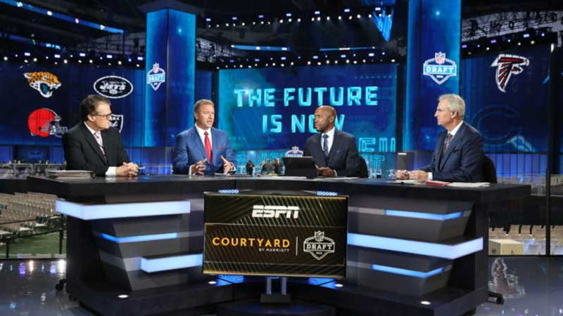 NFL Draft, Disney and NFL Join Forces to Expand Coverage of the Draft, News on News, News on News