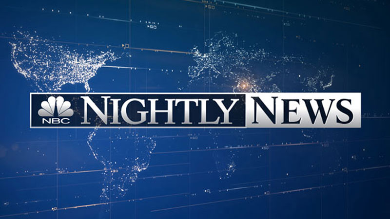 NBC Nightly News Tops Ratings for November