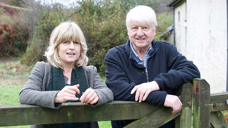 Stanley Johnson, Rachel and Stanley Johnson to Appear on BBC One's River Walks, News on News, News on News