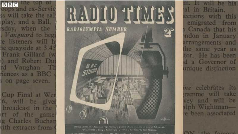 Radio Times, Wartime Editions of Radio Times Made Public, News on News, News on News