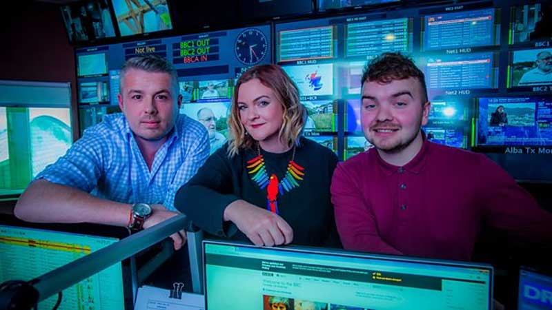 BBC Scotland, BBC Scotland Unveils the Voices of the Network, News on News, News on News