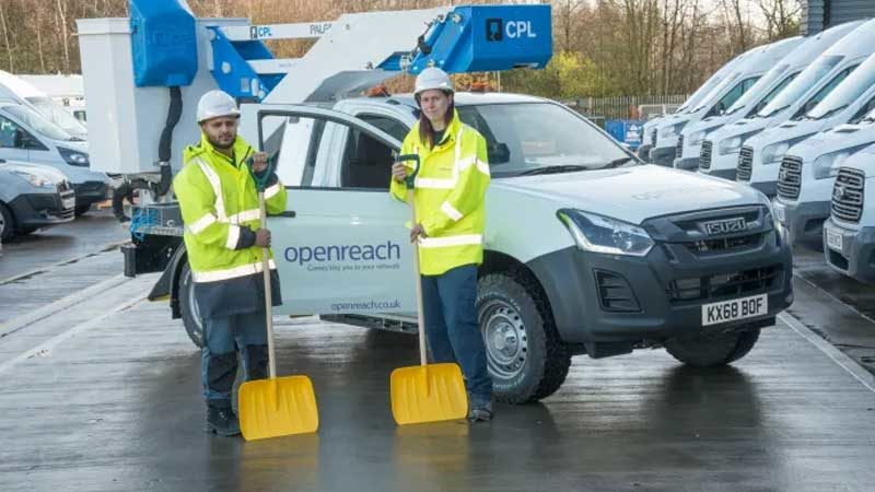 Openreach Prepares for Bad Weather Ahead