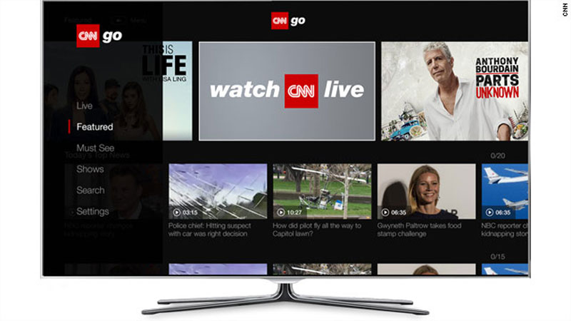 CNNgo, CNN Launches CNNgo on Roku Devices in Canada, News on News, News on News