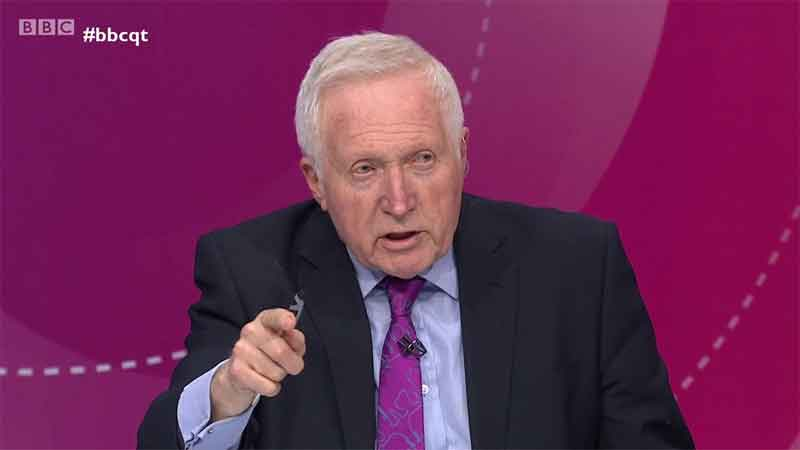 David Dimbleby to Guest Host 'Have I Got News For You'
