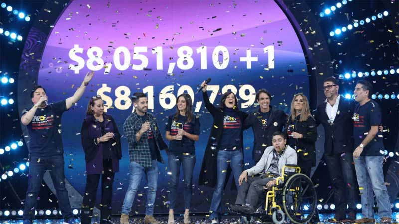 Univision Telethon Raises Over  MILLION for Charity