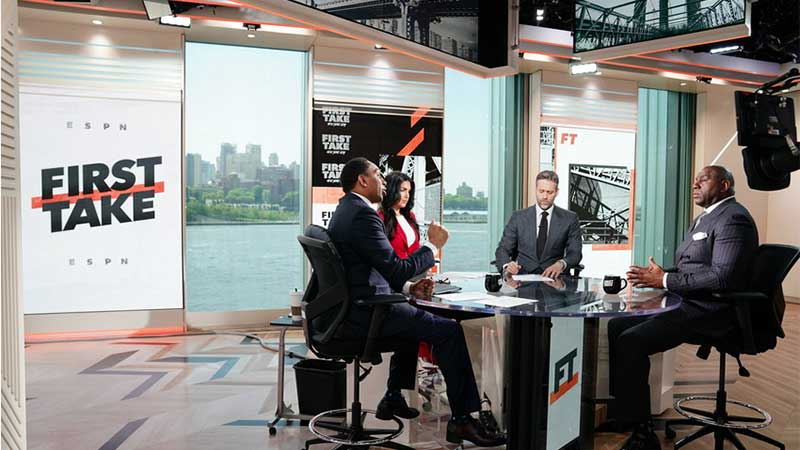 Magic Johnson Interview Gives ESPN Ratings Boost