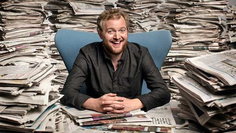 News Quiz Seeks New Host as Miles Jupp Stands Down