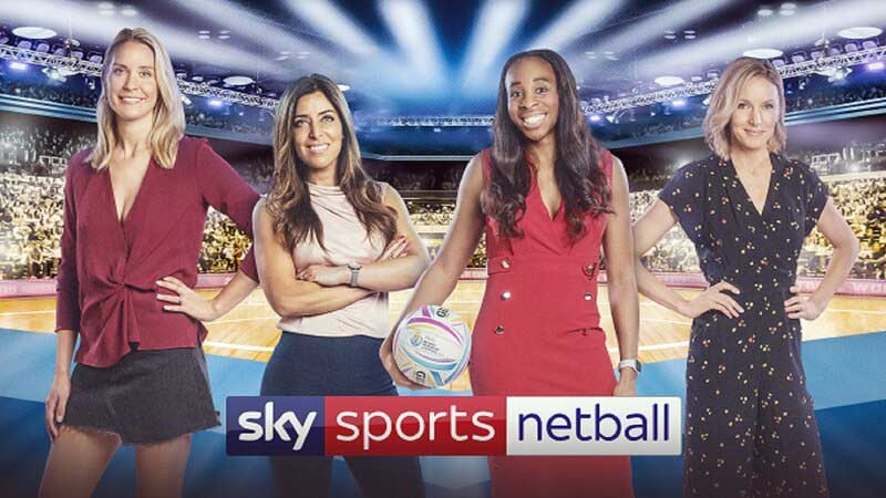 Sky Sports to Broadcast 2019 Vitality Netball World Cup