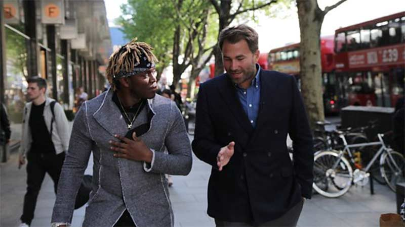 Eddie Hearn Launches Podcast on BBC Sounds