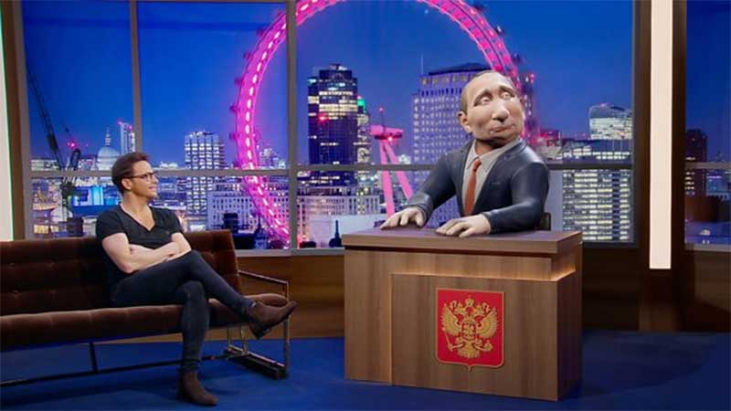 BBC Two Commissions Comedy Chat Show Hostest by 'Vladimir Putin'