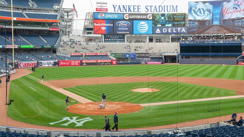 ESPN to Call from Judge's Chambers at Yankee Stadium