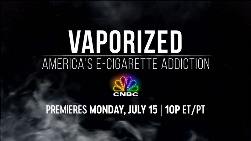 CNBC Examines America's E-Cigarette Addiction
