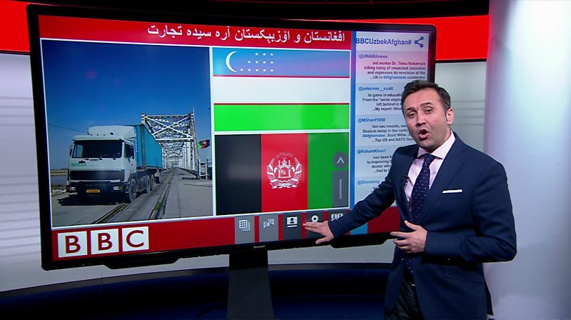 BBC News Uzbek Updates TV offer for Afghanistan