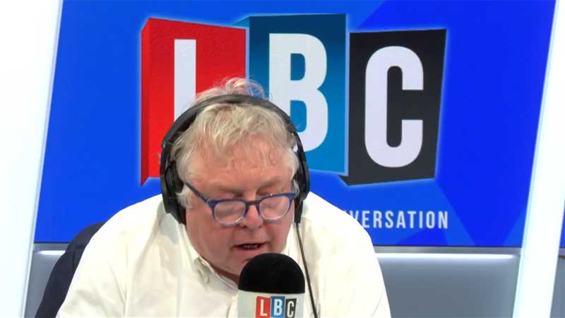 LBC's Nick Ferrari Launches Campaign for More Police Powers