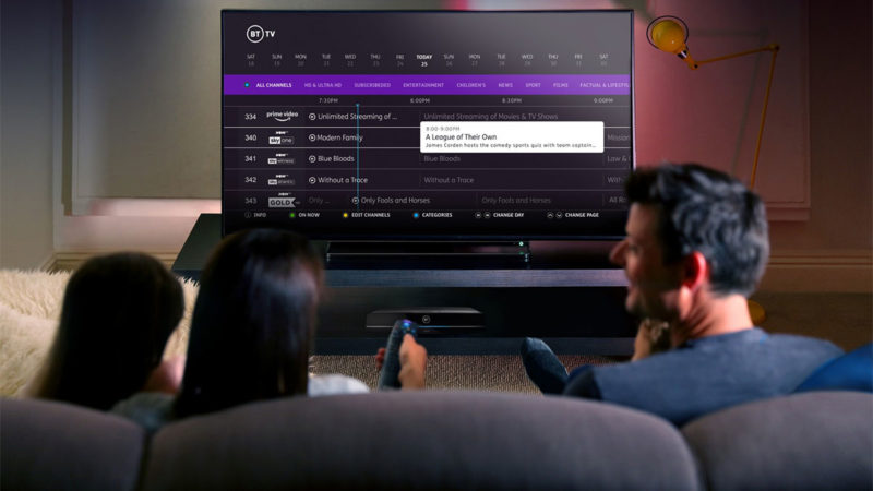 BT Recasts UK TV Offering with Sky Content