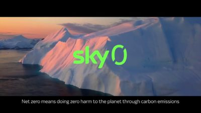 Sky Commits to Net Zero Carbon by 2030 400x225 - Sky Partners with Tottenham Hotspur to Air Net Zero Carbon Football Match