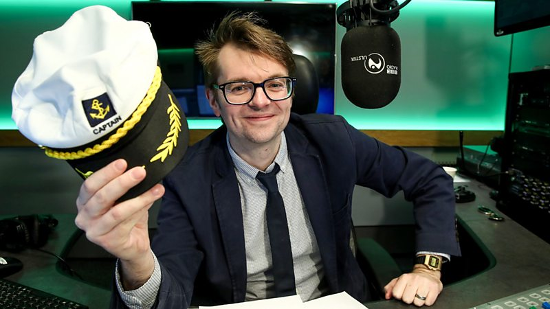 Steven Rainey, BBC Radio Ulster Sets Sail with 'The Cruise', News on News