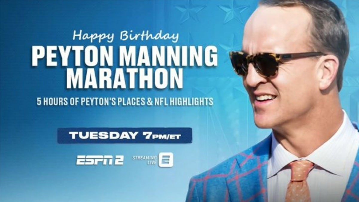 Peyton, ESPN2 to Mark Peyton Manning's Birthday, News on News, News on News