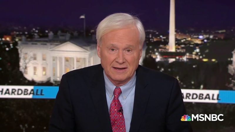 Chris Matthews Quits as Hardball Host