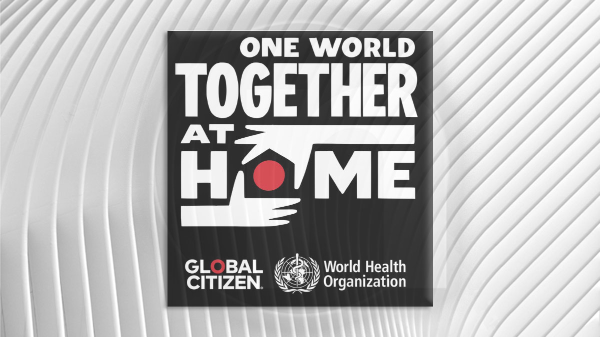 "RTÉ to Broadcast ""One World: Together At Home"""