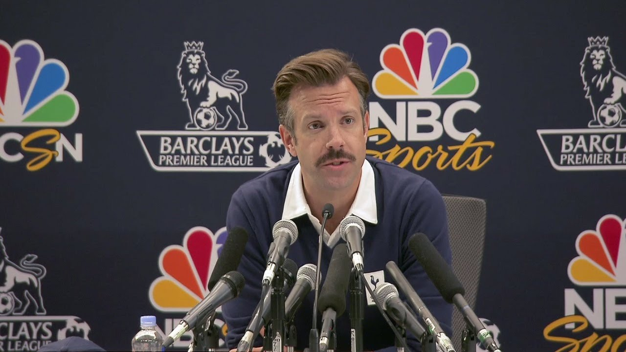 "Apple Confirms Comedy Football Series ""Ted Lasso"""