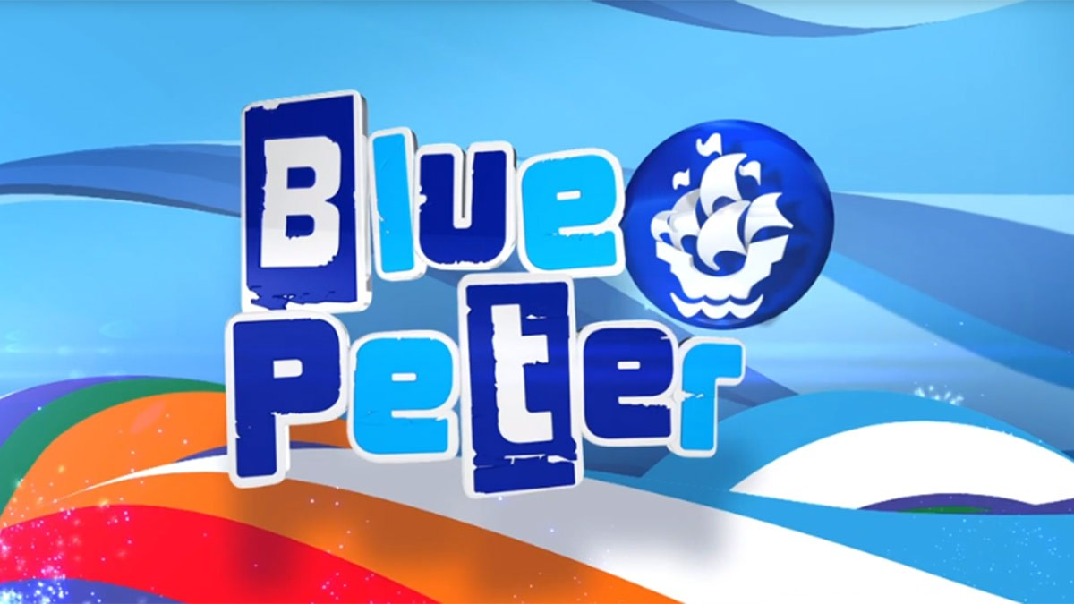 BBC's Blue Peter Awards Colonel Tom with Gold Badge