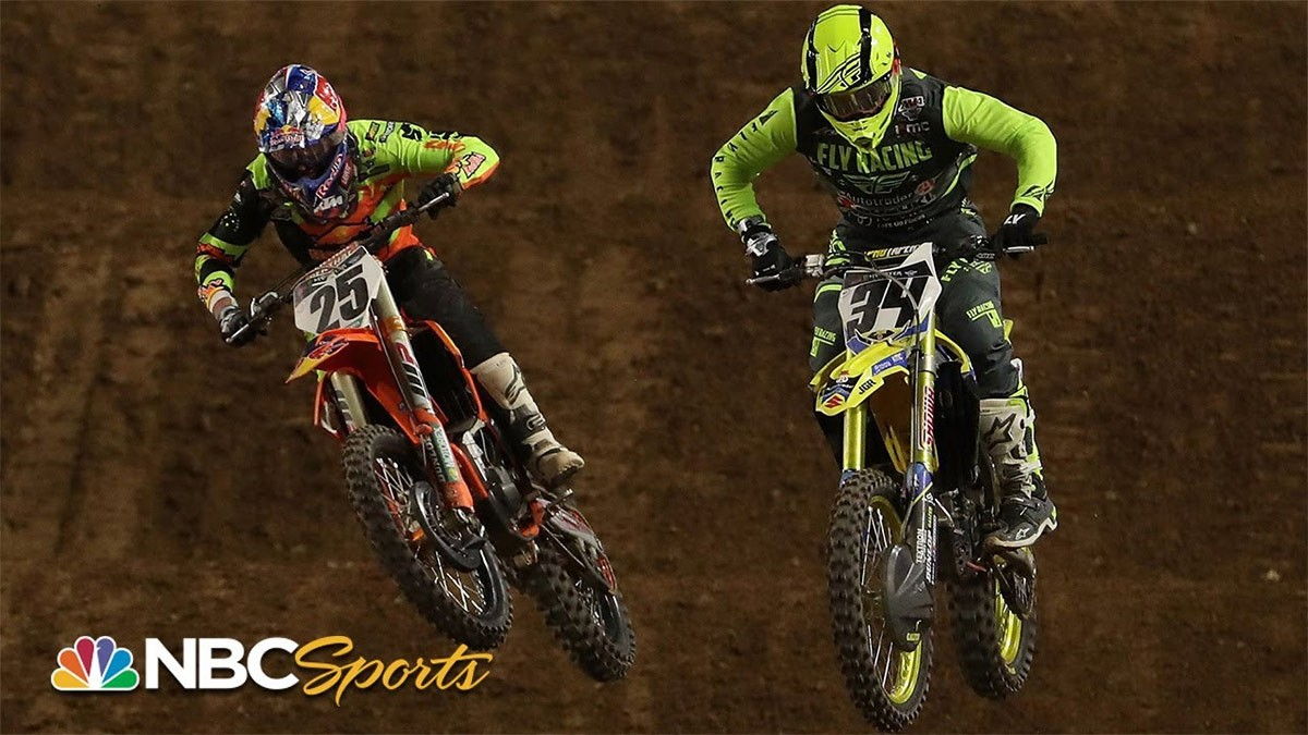 Live Supercross Returns to NBC Sports this Weekend