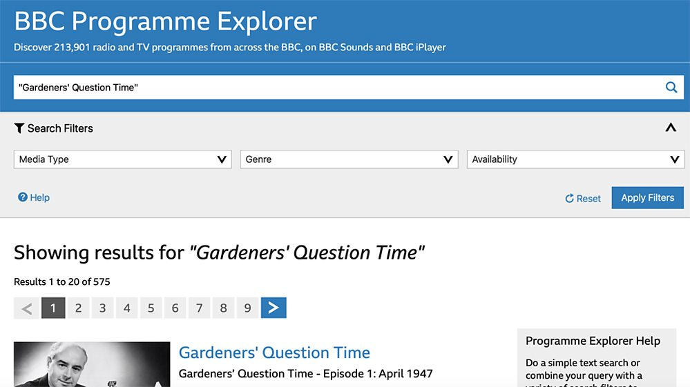 BBC Beefs Up Website and Archive Search Tools