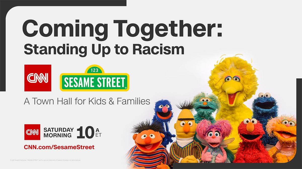 CNN and Sesame Street to Tackle Racism in New Special
