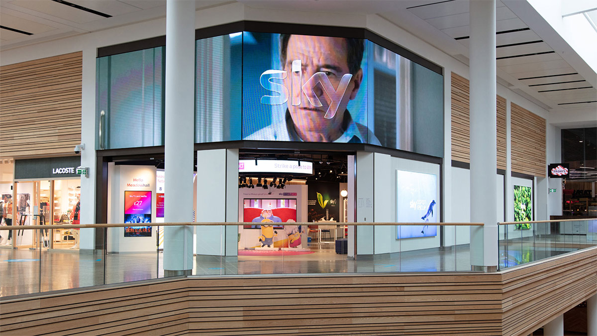 Sky Opens First Retail Store at Sheffield's Meadowhall