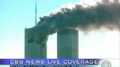 91101 The towers are hit e1631010678562 400x225 - CBS Confirms 9/11 20th Anniversary Coverage
