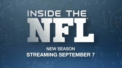 Inside the NFL Paramount Promo 400x225 - Inside the NFL to Air on Paramount+
