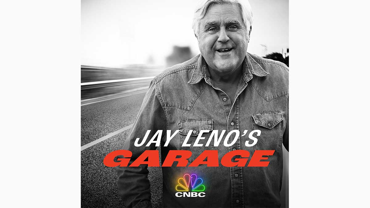 Jay Leno Returns to CNBC with More Garage